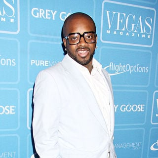 Jermaine Dupri in Vegas Magazine celebrates it's 6th anniversary in style with June issue cover model Heather Graham