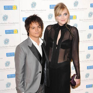 Jamie Cullum, Sophie Dahl in Raisa Gorbachev Foundation Party