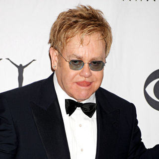 Elton John in The 63rd Tony Awards - Press Room - wenn2450090