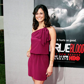 Valerie Cruz in The 'True Blood' Season 2 Premiere Screening - Arrivals - wenn2453134