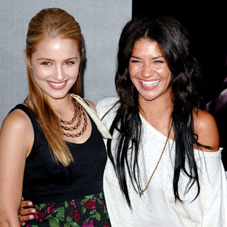 Dianna Agron, Jessica Szohr in 'True Blood' Season 2 Premiere Screening - Arrivals