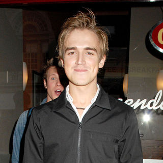 Tom Fletcher, McFly in Derren Brown Enigma Press Night - Arrivals