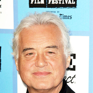 Jimmy Page in It Might Get Loud LAFF premiere