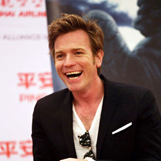 Ewan McGregor in The closing ceremony of the 12th Shanghai International Film Festival