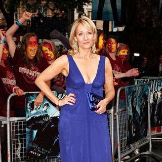J.K. Rowling in World Premiere of Harry Potter And The Half Blood Prince - arrivals
