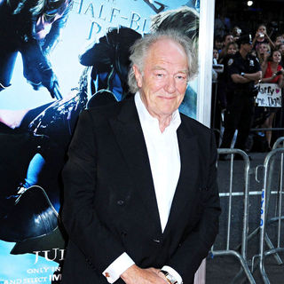 Michael Gambon in New York Premiere of 'Harry Potter And The Half-Blood Prince'
