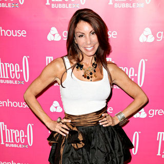 Danielle Staub in Kim Kardashian Hosts The Three-O Vodka Bubble Launch