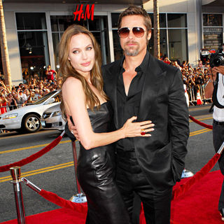 Angelina Jolie, Brad Pitt in Los Angeles Premiere of Inglourious Basterds Premiere - Arrivals