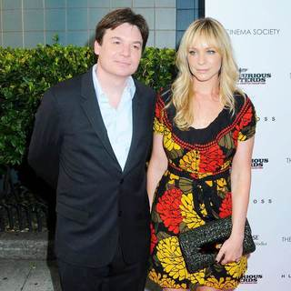 Mike Myers in The Cinema Society & Hugo Boss Screening of 'Inglourious Basterds' - wenn2543250