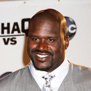 Shaquille O'Neal in Press conference for the ABC television series 'Shaq vs'