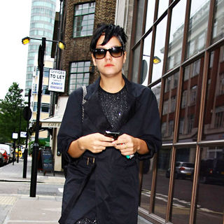 Lily Allen outside the Radio One studios - wenn2551070