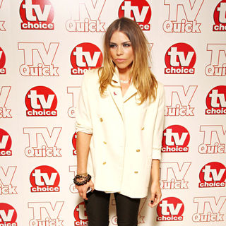 Billie Piper in TV Quick & TV Choice Awards - Inside Arrivals - wenn2563568