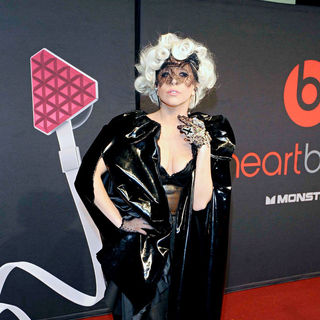 Lady GaGa - Lady GaGa at her Monster Cable party