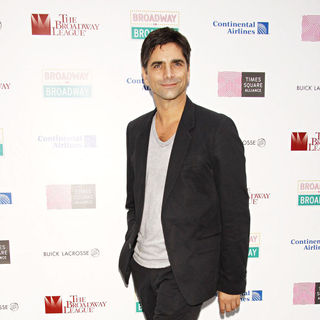 John Stamos in The Broadway on Broadway 2009 Concert - Press Room