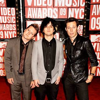 Green Day in 2009 MTV Video Music Awards (VMA) - Arrivals