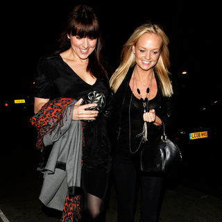Melanie C, Emma Bunton in A Reunion Meal at The Palm Restaurant