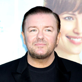 Ricky Gervais in 'The Invention of Lying' premiere
