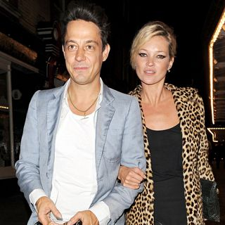 Kate Moss - Kate Moss and Jamie Hince Leave J. Sheekey Restaurant Together