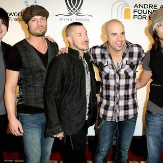 DAUGHTRY in The Andre Agassi Foundation for Education Hosts The 14th Annual Grand Slam