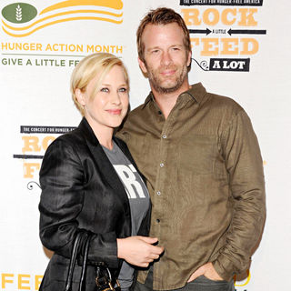 Patricia Arquette, Thomas Jane in 'Rock a Little, Feed a Lot' Benefit Concert in Aid of L.A. Regional Food Bank & Feed America