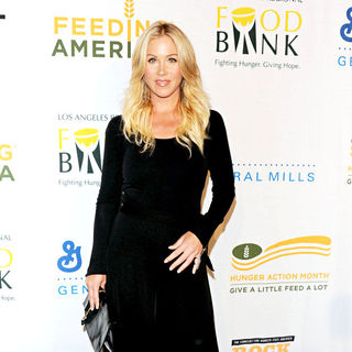 Christina Applegate in 'Rock a Little, Feed a Lot' Benefit Concert in Aid of L.A. Regional Food Bank & Feed America