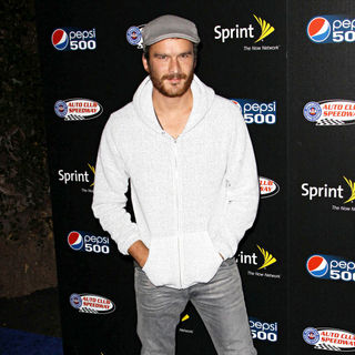 Balthazar Getty in Auto Club Speedway Celebrates the Pepsi 500