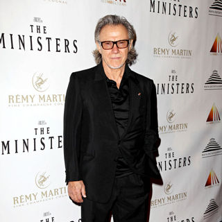 "Harvey Keitel in The world premiere of ""The Ministers"""