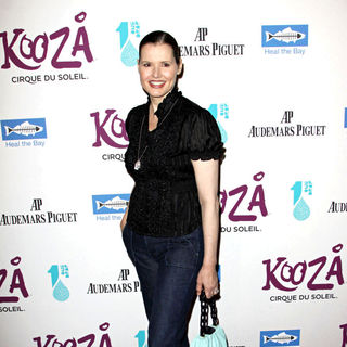 Geena Davis in KOOZA, The Big Top Touring Show from Cirque du Soleil