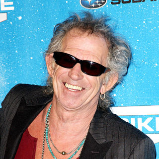 Keith Richards in Spike TV's 2009 Scream Awards - Arrivals