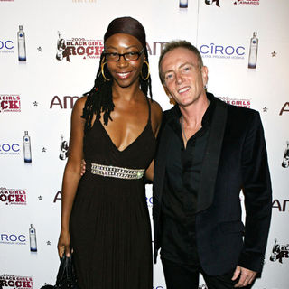 Helen L. Simmons, Phil Collen in The Fourth Annual Black Girls Rock Awards