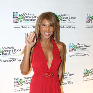 Toni Braxton in Toni Braxton attends the Children's Cancer & Blood Foundation Breakthrough Ball