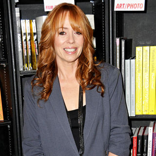 Mackenzie Phillips in Mackenzie Phillips signs her new book 'High on Arrival'
