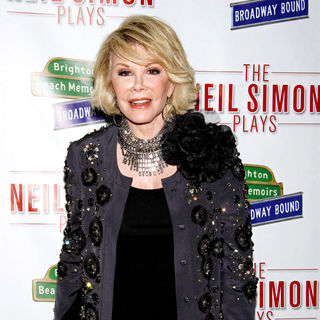 Joan Rivers - Opening night of Neil Simon's 'Brighton Beach Memoirs ' on Broadway - Arrivals