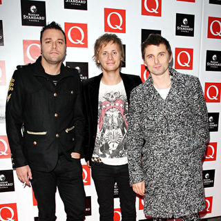 Muse in The Q Awards 2009 - arrivals
