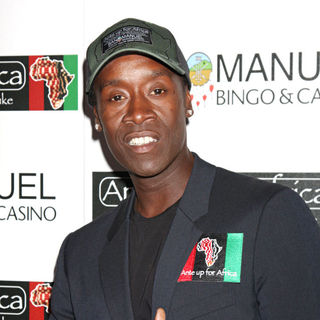 Don Cheadle in The 2nd Annual 'Ante Up For Africa' poker tournament