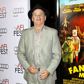 Bill Murray in AFI Film Fest 2009 - Opening night gala screening of 'Fantastic Mr. Fox' - Arrivals