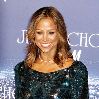 Stacey Dash in The Jimmy Choo for H&M Launch Party