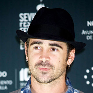 Colin Farrell in The Photocall and Press Conference of 'Triage' directed by Danis Tanovic