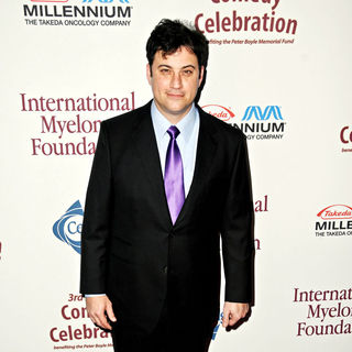 Jimmy Kimmel in Ray Romano Hosts The International Myeloma Foundation's 3rd Annual Comedy Celebration