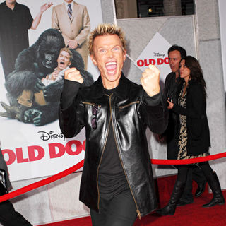 Billy Idol in Walt Disney's World Premiere of 'Old Dogs' - Arrivals