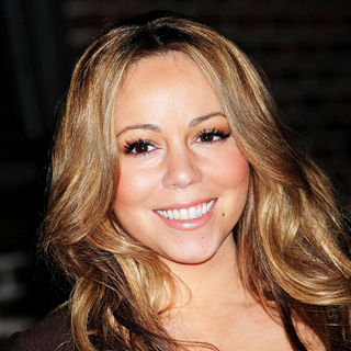 Mariah Carey - Mariah Carey Outside The Ed Sullivan Theater for The 'Late Show With David Letterman'