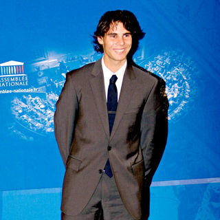 Rafael Nadal in 2008 award by the French Sports Academy