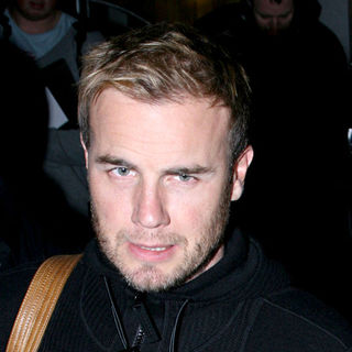 Gary Barlow in Celebrities at The Maida Vale Studios