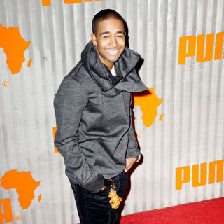 Omarion in Puma presents the African Bazaar