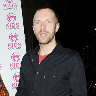 Chris Martin, Coldplay in The Designer Fashion Sale 'Gladrags and Handbags' Hosted by Harper's Bazaar