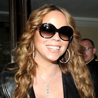 Mariah Carey in Mariah Carey Leaving Her London Hotel