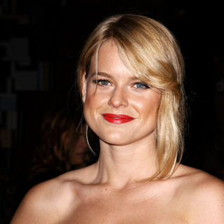 Alice Eve in Prada book launch cocktail party