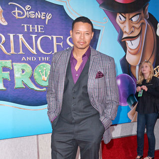 Terrence Howard in 'The Princess and the Frog' Premiere - Arrivals