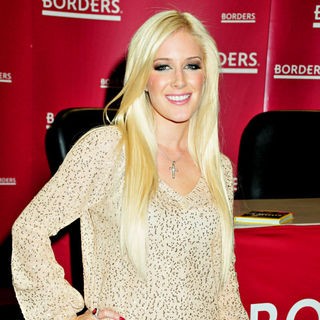 Heidi Montag signing their new book 'How to be Famous'