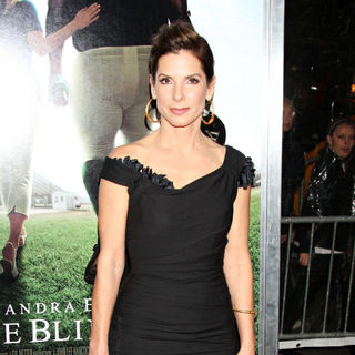 Sandra Bullock in The Premiere of 'The Blind Side'